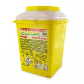Boîte à déchets à usage unique