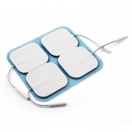 Electrodes avec gel